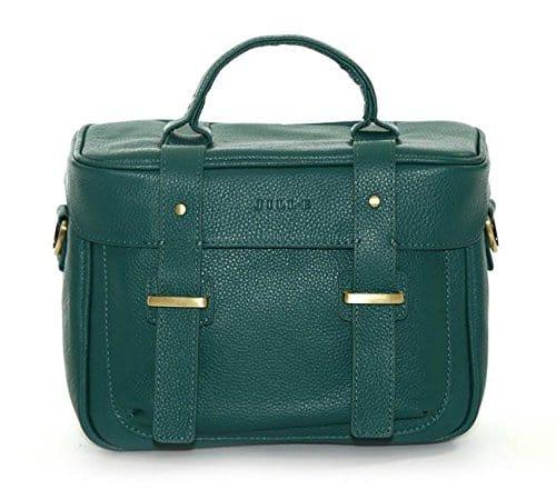 Jill.e Designs Juliette All Leather Camera Bag