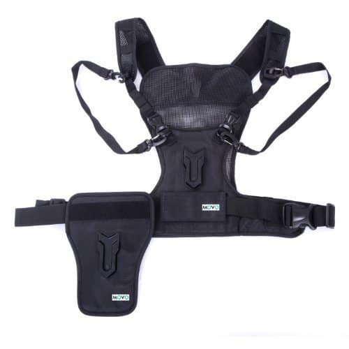 Movo Photo MB1000 Multi Camera Vest with Side Holster